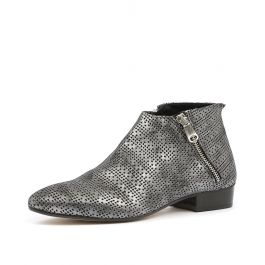 B203b Canna Di Fucil Pewter Consumato Leather By