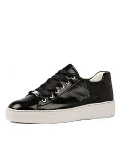 COURTYARD 62 SCHWARZ PATENT LEATHER