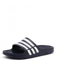 buy popular e2b4b ee452 ADIDAS PERFORMANCE duramo slide mens navy white navy smooth