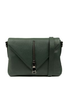EXILE BAG GREEN LEATHER