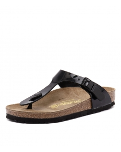 GIZEH BLACK PATENT SYNTHETIC