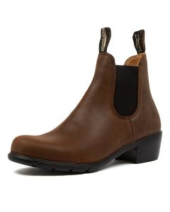 1673 WOMENS BT BROWN LTHR
