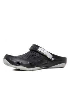 SWIFTWATER DECK CLOG BLACK LIGHT GRE CROSLITE