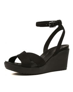 LEIGH II CROSSSTRAP BLACK BLACK SMOOTH