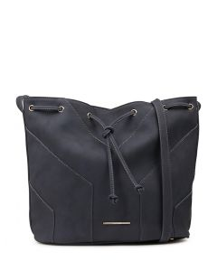 ZOEY BUCKET BAG NAVY SMOOTH
