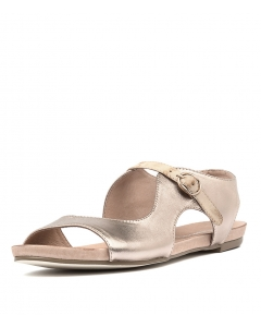 JACOBI ROSE GOLD NUDE LEATHER
