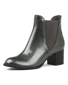 SADORE PEWTER PATENT LEATHER