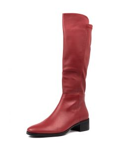 TETLEY RED RED LEATHER STRETCH SMOOTH