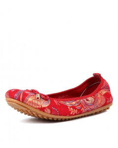 BELLING RED PAISLEY LEATHER