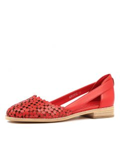 ADRIENE RED LEATHER