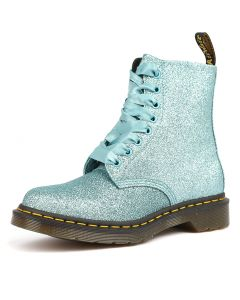 PASCAL 8 EYE BOOT TURQUOISE SMOOTH
