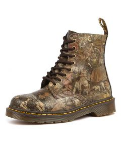 PASCAL 8 EYE BOOT GRAPHIC SUEDE
