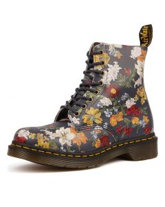 PASCAL 8 EYE BOOT FLORAL LEATHER