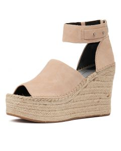 STRAW BLUSH SUEDE