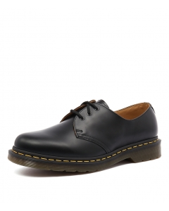1461 3 EYE SHOES BLACK SMOOTH LEATHER