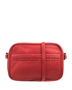AMBROSE GG RED LEATHER
