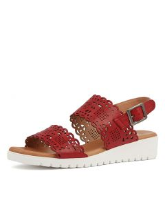 FLOY RED CUT LEATHER