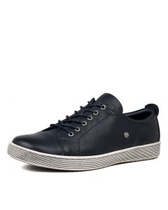 DEMPSEY NAVY LEATHER