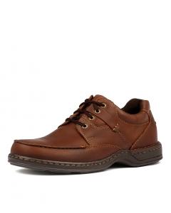 0303351f9ea1 HUSH PUPPIES randall ii brown leather