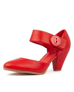 CYNDIAS RED SMOOTH PATENT