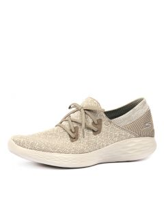 YOU   EXHALE TAUPE MESH