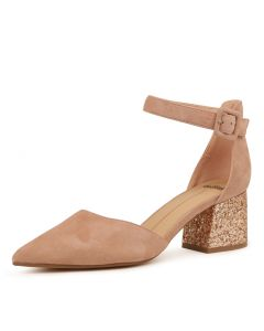 RAEMS ROSE ROSE GOLD SUEDE