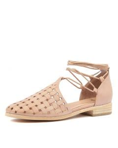 QYTEEP BLUSH EMBOSSED LEATHER