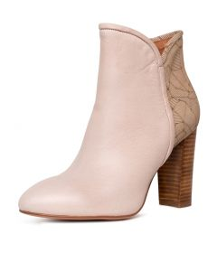 WUNDIFY NUDE LEATHER GEO LEA