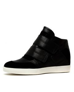 ALAYNA BLACK BLACK SUEDE LEATHER