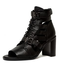 JADDEL BLACK BLACK HEEL LEATHER