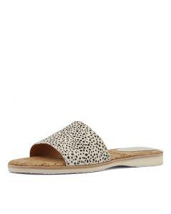 677785b5da67 ROLLIE sandal slide snow leopard pony