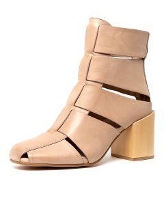 9079a2efa5f2 SILENT D sergio nude leather