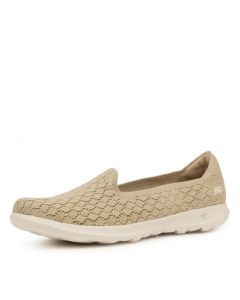GO WALK LITE   DAISY TAUPE SMOOTH