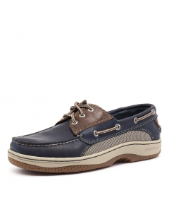 8f15ba42e2e SPERRY billfish 3 eye navy brown leather