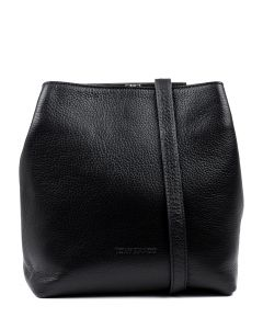 SEOUL BLACK COW WASHED LEATHER
