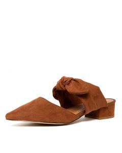 ALICE TH RUST MICROSUEDE
