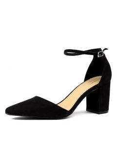 74102f5d2f1 THERAPY loren th black microsuede. NZ 76.95