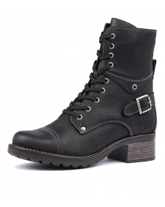 CRAVE BLACK OILED LEATHER