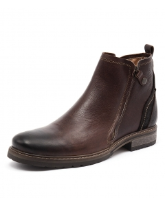 HUNTER WR DARK BROWN LEATHER