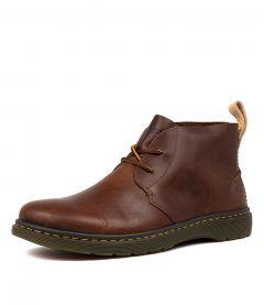 Martens DM Cabrillo  Men/'s Mid-Blue Hi-Suede Leather 2 Eye Desert Boots Dr