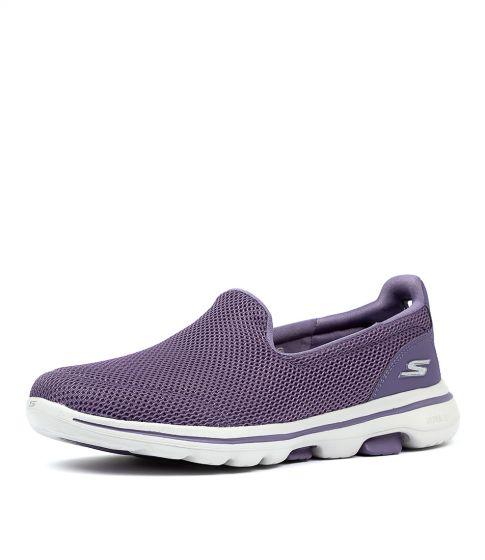 skechers go walk purple