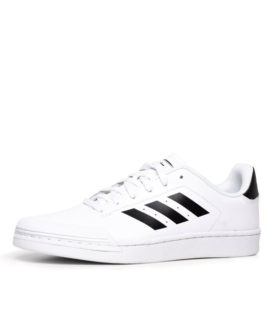 COURT70S WHITE BLACK SMOOTH by ADIDAS - at Styletread 59ea4b23a