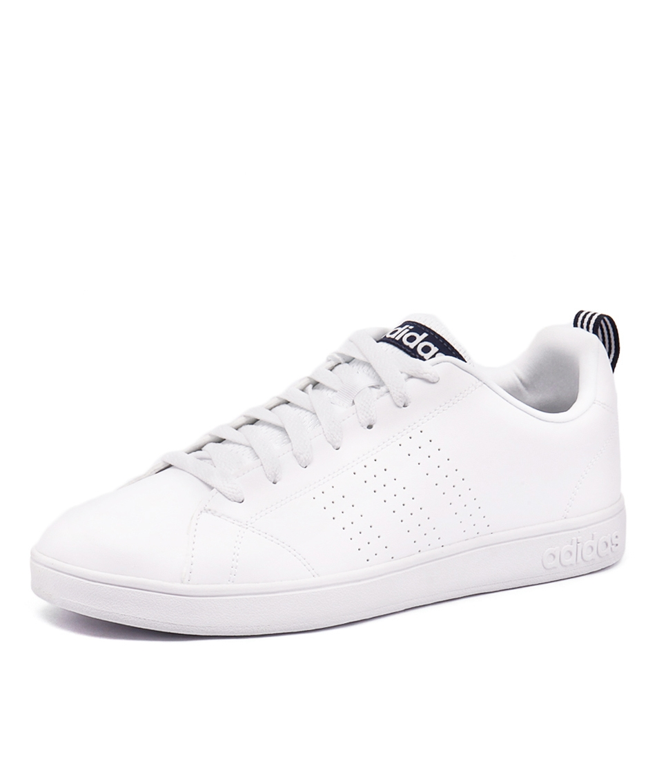 newest 4e26a 037c2 ADVANTAGE CLEAN VS WHITE WHITE NAV SMOOTH by ADIDAS NEO - at