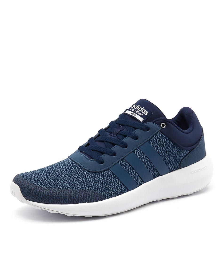 cloudfoam corsa uomini blu blu blu regolare da adidas neo a styletread