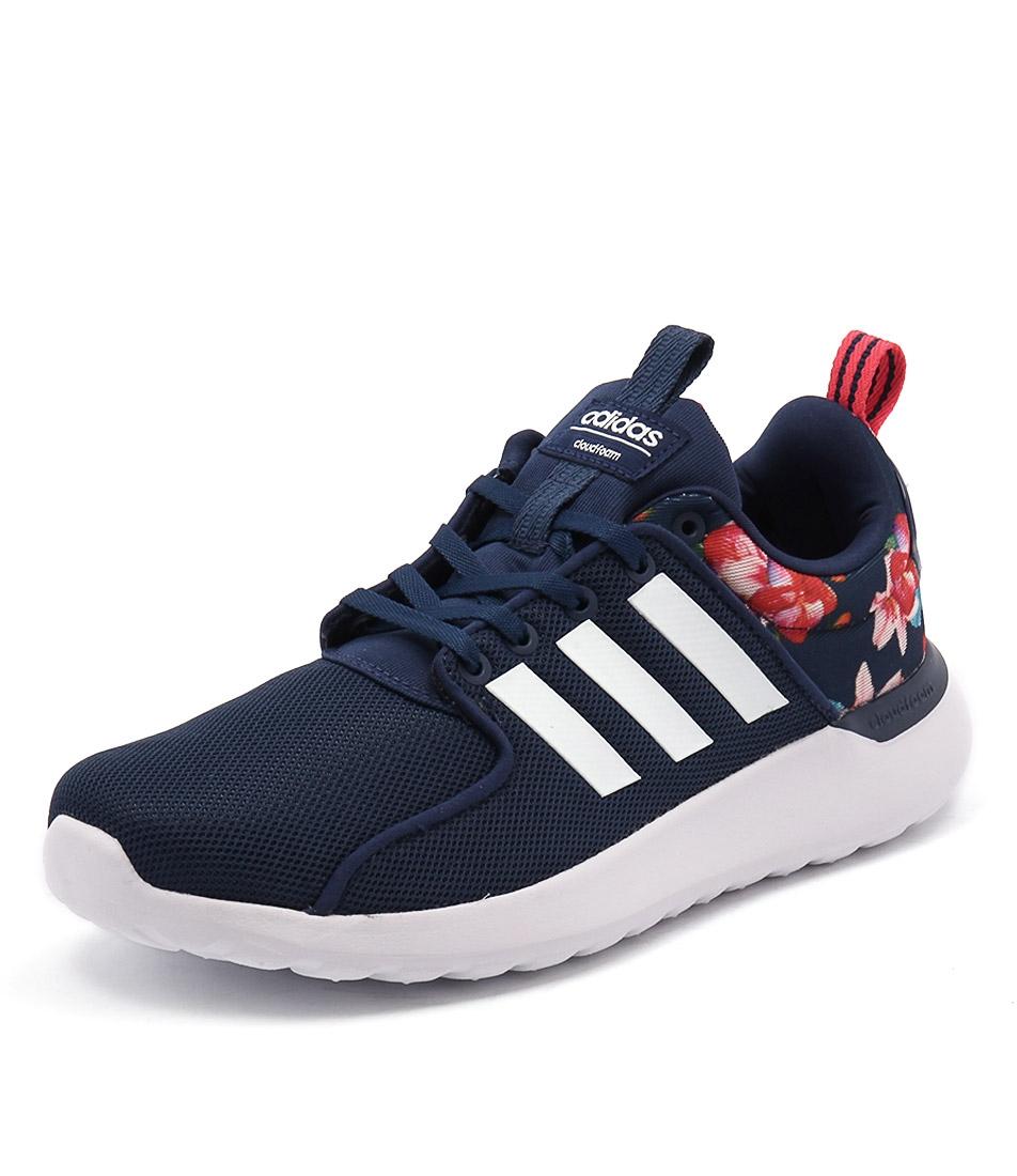 cloudfoam blu - bianco - rosso 100 light racer tessuto da adidas neo