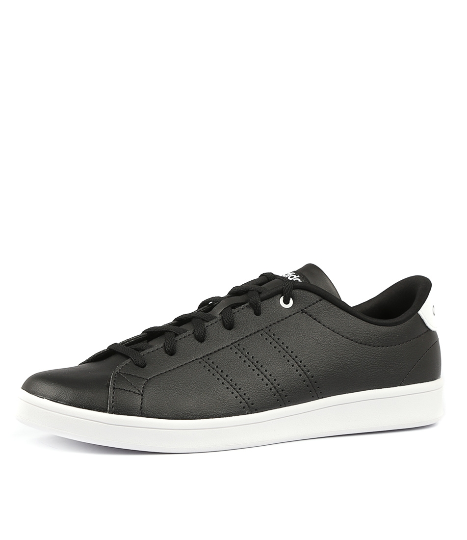 48c0dbb6417d ADVANTAGE CL QT BLACK BLACK WHITE SMOOTH by ADIDAS NEO - at Styletread