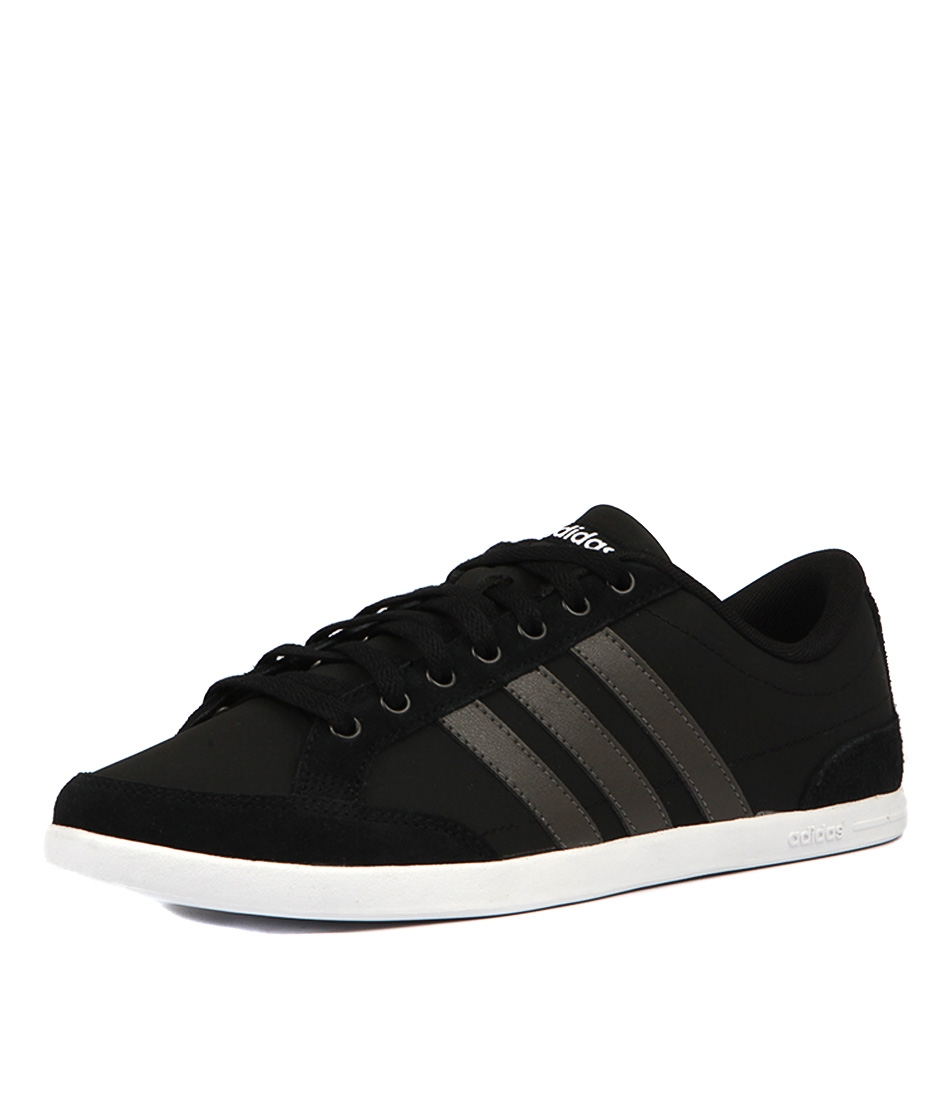 best sneakers f4fd7 facec CAFLAIRE BLACK CINDER WH SMOOTH by ADIDAS NEO - at Styletrea