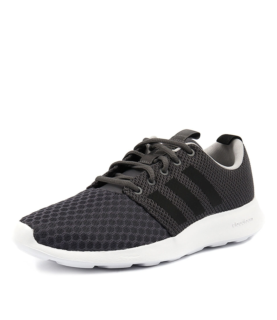 91d4cf467 CF SWIFT RACER BLACK BLACK GRE SMOOTH by ADIDAS NEO - at Styletread
