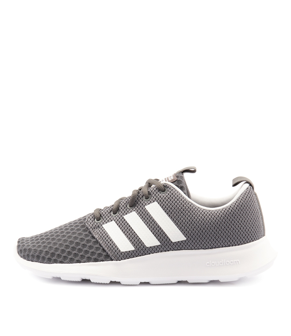 0a4a9f8d75a CF SWIFT RACER GREY BLACK WHIT SMOOTH by ADIDAS NEO - at Styletread