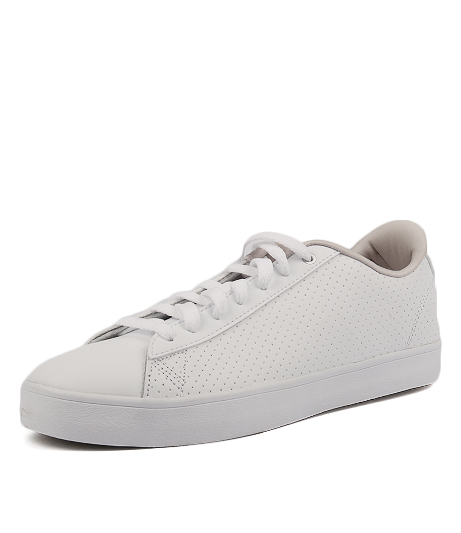 CF DAILY QT CL WHITE PEARL GRE LEATHER by ADIDAS NEO - at Styletread 0ed1dc2b4